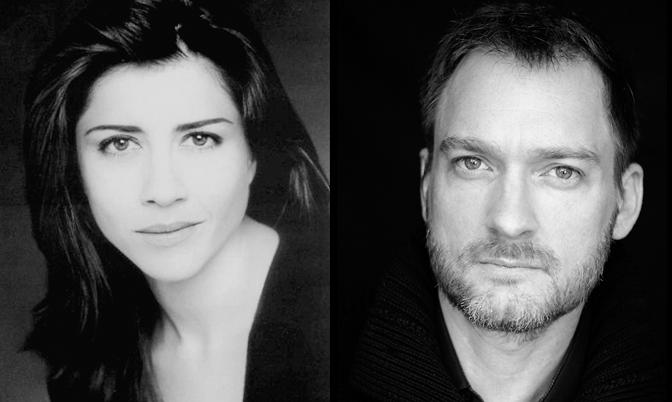 Alicia Borrachero i Ben Temple