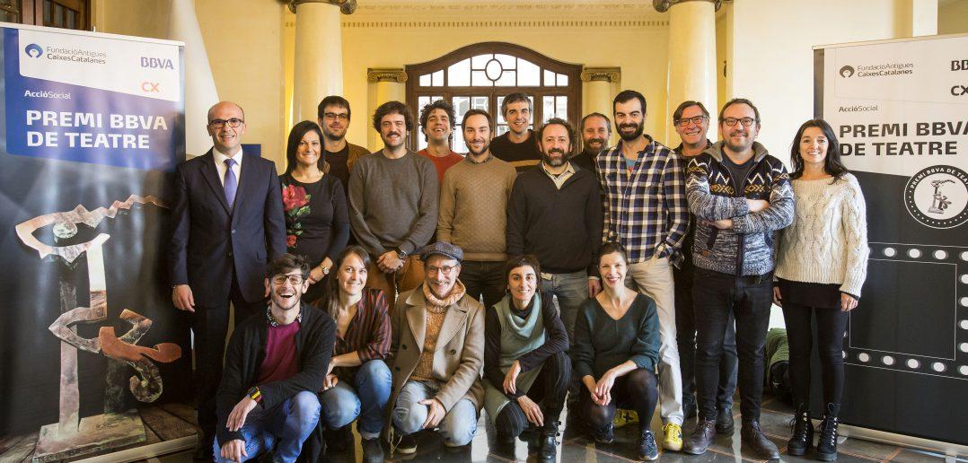 Finalistes Premi BBVA Teatre 2019