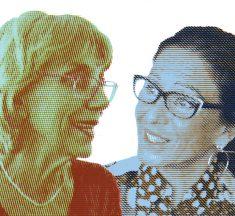Diàleg entre Imma Colomer i Muntsa Alcañiz