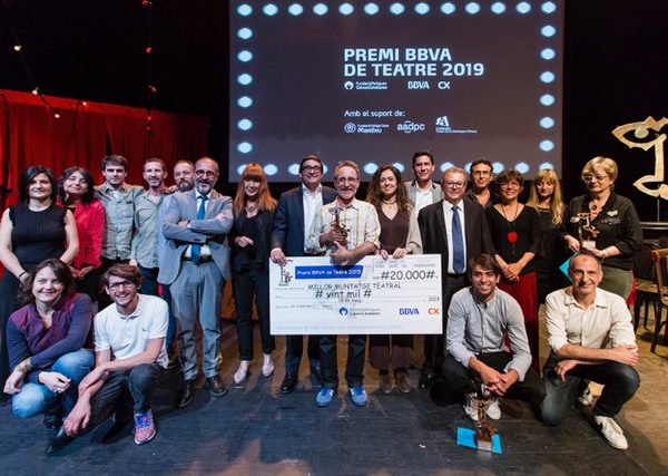 Xirriquiteula Teatre guanya el Premi BBVA de Teatre 2019