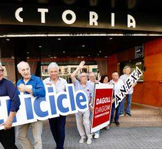 Tricicle, Dagoll Dagom i ANEXA s'acomiaden del Victòria