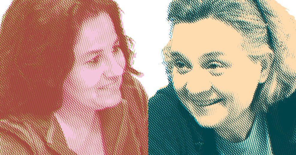 Rosa M.Isart i Anna Güell
